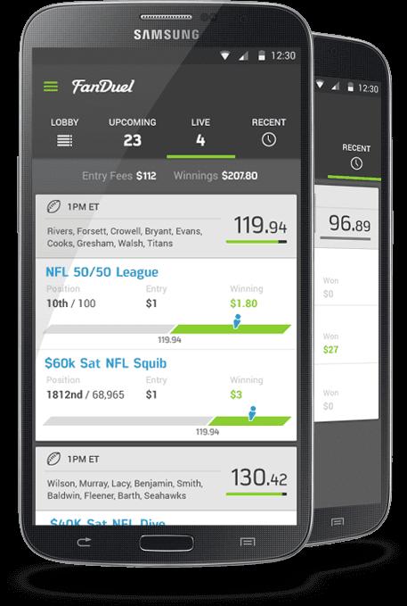 Fanduel App Android