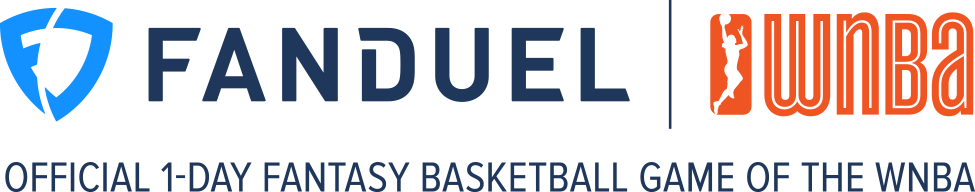 FanDuel the official one day Fantasy game of the wnba