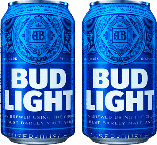 Bud Light Fantasy Basketball cans