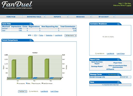 FanDuel Partners System